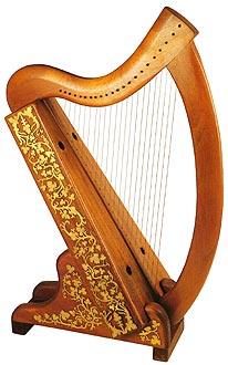 22-string-harp